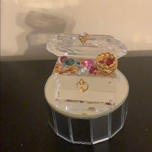 Swarovski jewelry box mint